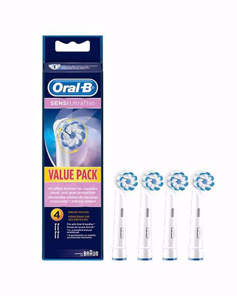 Picture of Oral-B Sensi UltraThin pótfej 4 db (EB60-4)