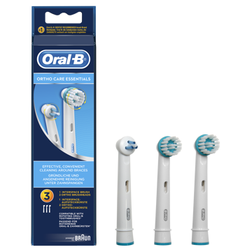 Kép Oral-B OD17 pótfej 3 db Ortho Care kit