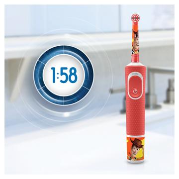 Kép Oral-B D100 Vitality gyerek fogkefe - Toy Story